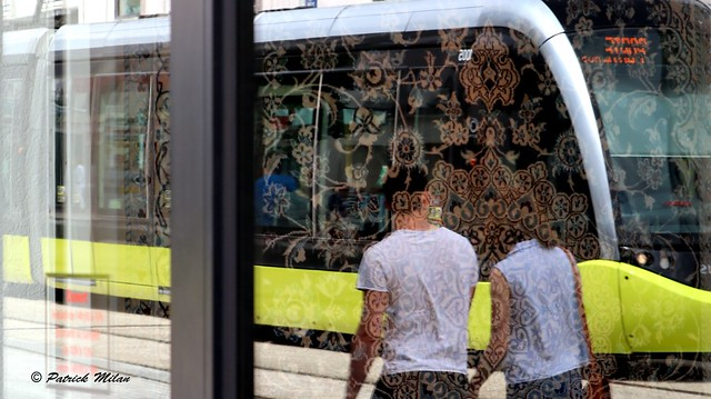 Reflection - Brest Tram
