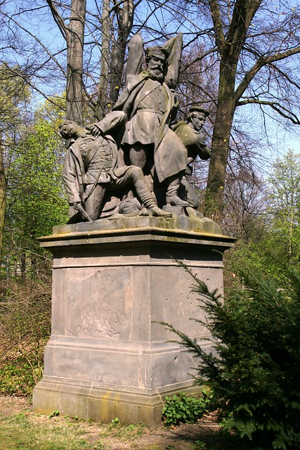 """Der Kampf / Schanzenstürmung"" im Berliner Tiergarten"