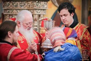 Литургия в Иверском монастыре 330