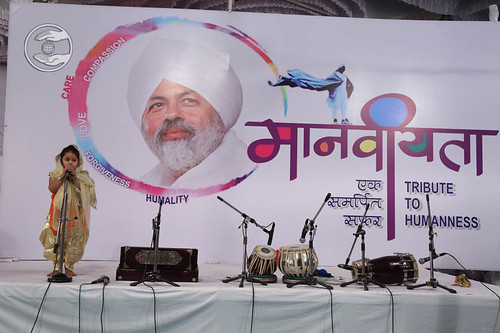 Devotional song by devotee from Bal Sangat