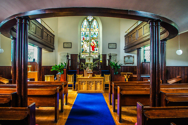 Glenorchy Church Interior