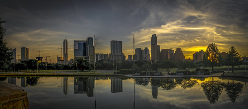 austin texas downtown dawn sunrise olympus