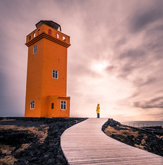 Svortuloft lighthouse - Iceland - Travel photography
