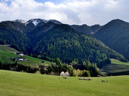 Val de Funes, Dolomites, Italy