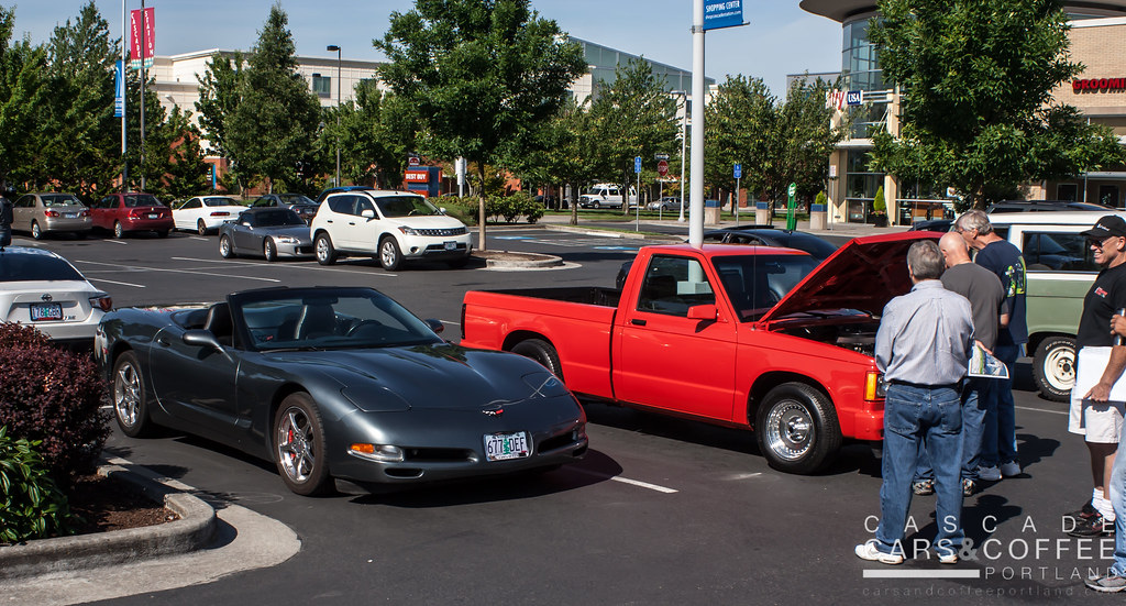 cars and coffee portland