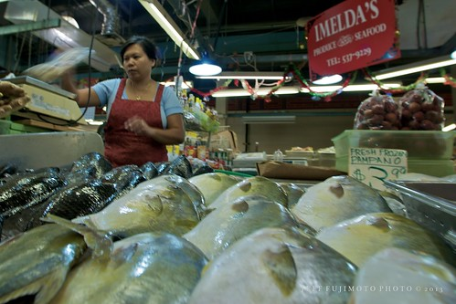 Fresh-Frozen Fish and Lychee at Imelda's