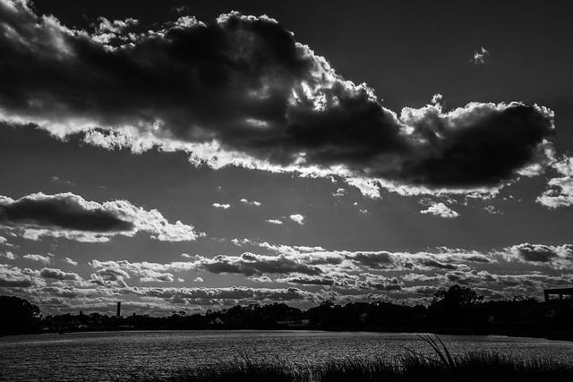 day 10   cloudscape   #b&w