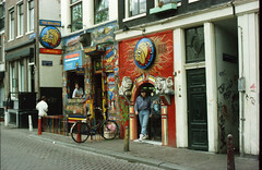 Amsterdam Holland 1990 001 The Bulldog Cafe
