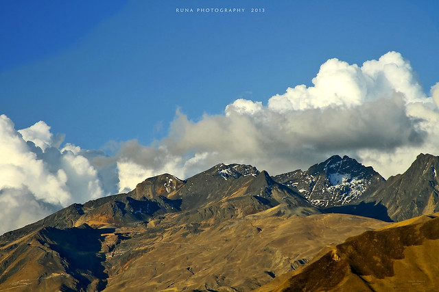 Atardecer en la Cordillera de La Paz