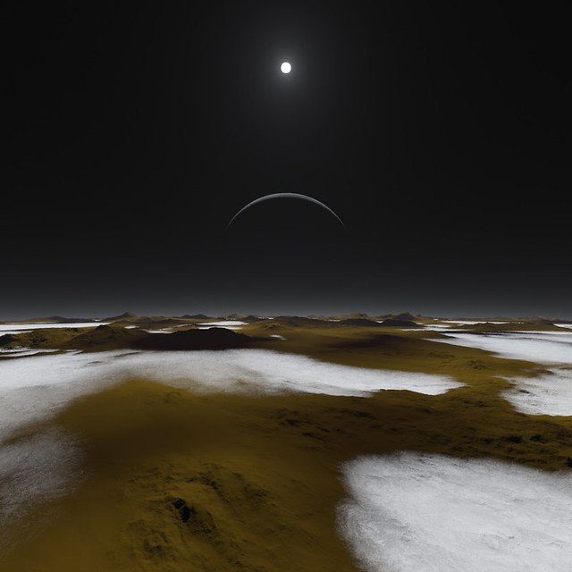 Pluto at High Noon (Artist's Concept)