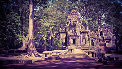 2015-05-21 Cambodia Day 2. Chau Say Tevoda Temple, Siem Reap