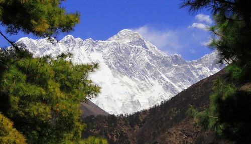 nepal mountains trekking everest sagarmatha