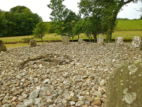 Southern stone circle at Temple Wood
