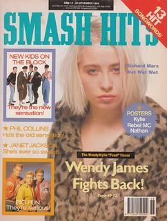 Smash Hits, November 15, 1989