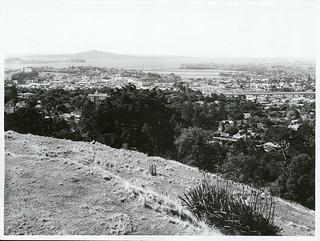 Auckland Views from Mt Eden