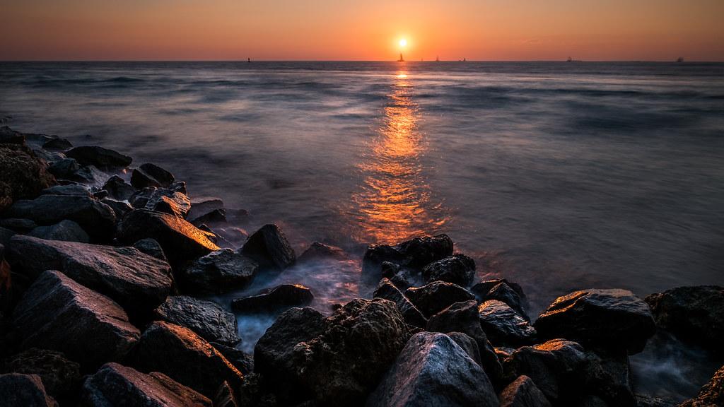 Sunset in Key West - Florida, United States - Seascape photography