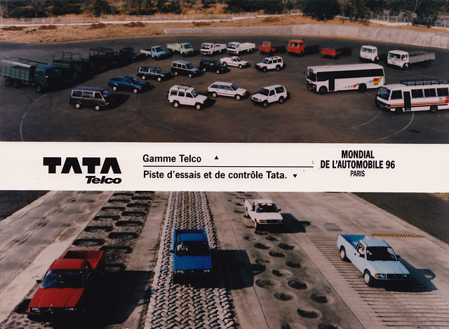 Tata promotional photo from 1996 Paris Motor Show