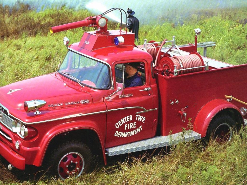 rare fire trucks