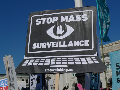 DC Rally Against Mass Surveillance | by Susan Melkisethian