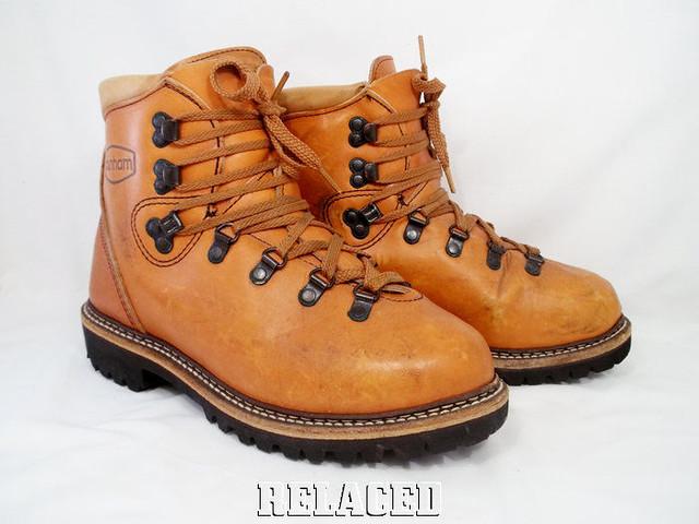 Vintage hikers