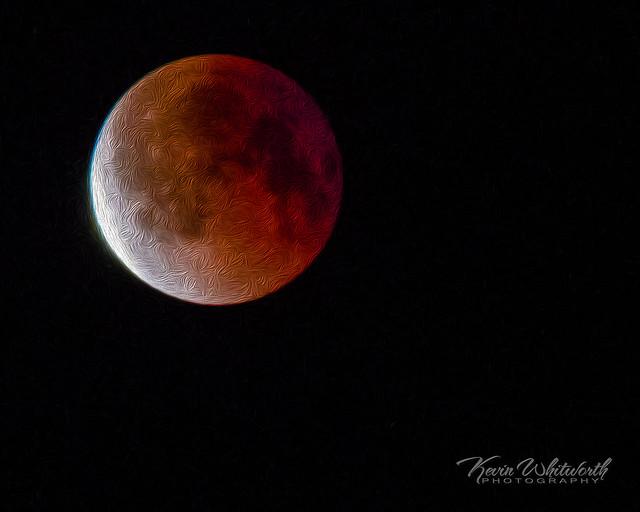 Blood Moon Art