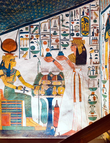 Tomb of Nefertari, QV66, Valley of the Queens | by kairoinfo4u