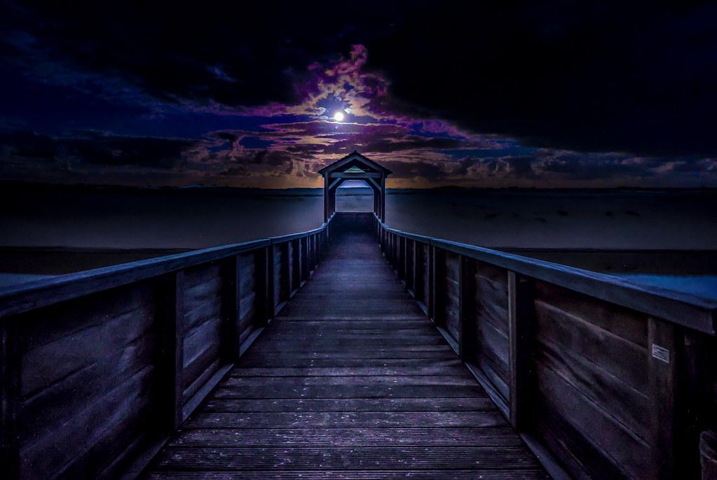Moonlit Outlook (Explored 29-4-2017)