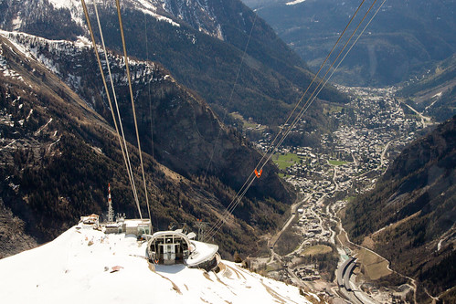 Italy's SkyWay Monte Bianco cable car | by angelatravels11