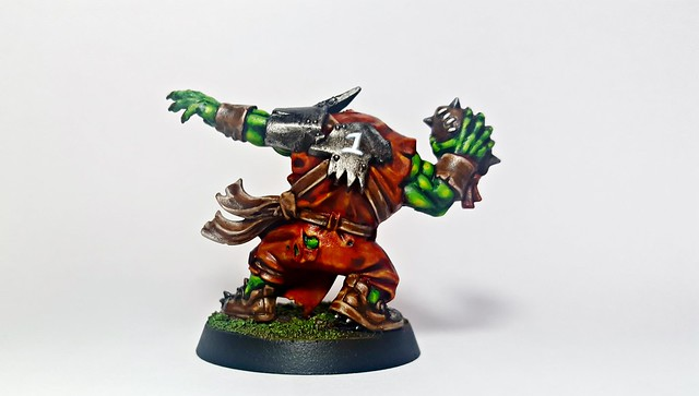 MORKTO of Thi EmPeraZZ (Back) (Blood Bowl (Games Workshop's 2016 Edition) Orc Thrower)