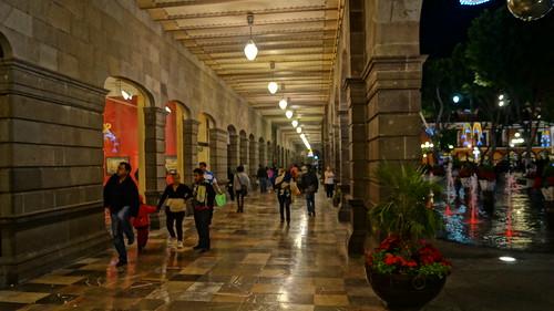 Portales Palacio Municipal Puebla