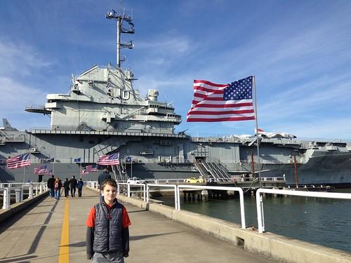 Saluting USS Yorktown | by Wayan Vota