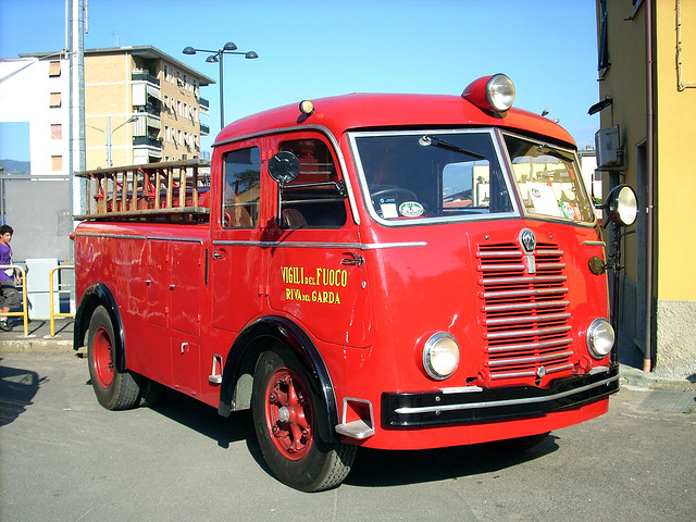 Fiat 640N Allestimento VVF Bergomi