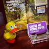 @GeoDuckie at Tallahasse, FL Visitor Center.