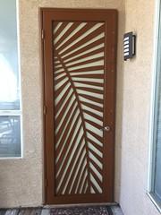 #waterjet cut #irondoor #powdercoating AR IRON LLC