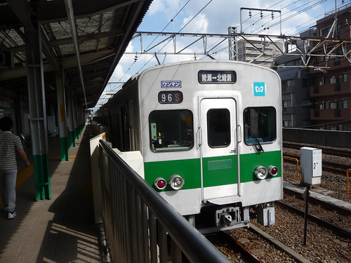 Tokyo Metro 5000 series at Ayase | by railsquid