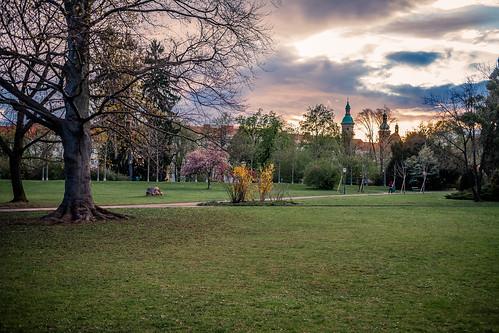 stadtpark sunset park graz steiermark österreich visitgraz austria styria explored explore inexplore byerwin