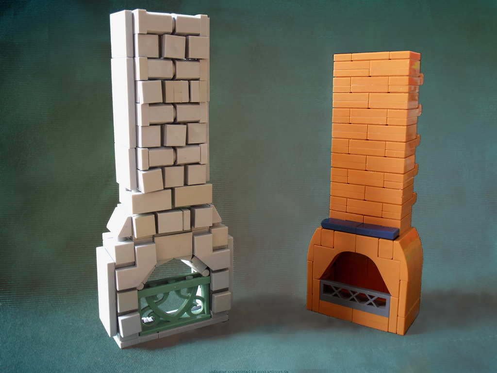 Chimney Designs I Built These Two Chimneys For My Prancing Flickr