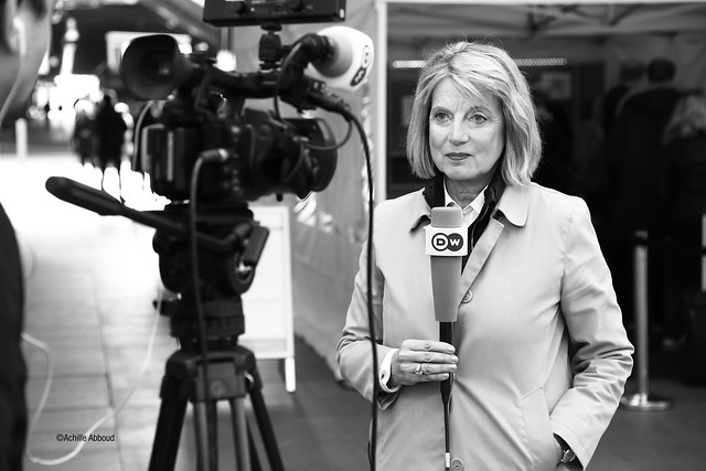 Journalist at Work - Barbara Wesel Live