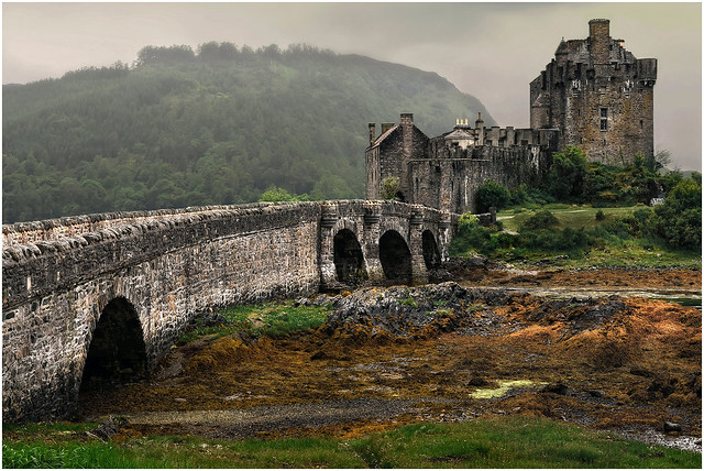 Scotland. Eilean Donan Castle.