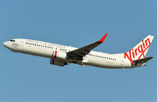 VH-YIF 'Sorrento Beach' Boeing 737-8FE Virgin Australia