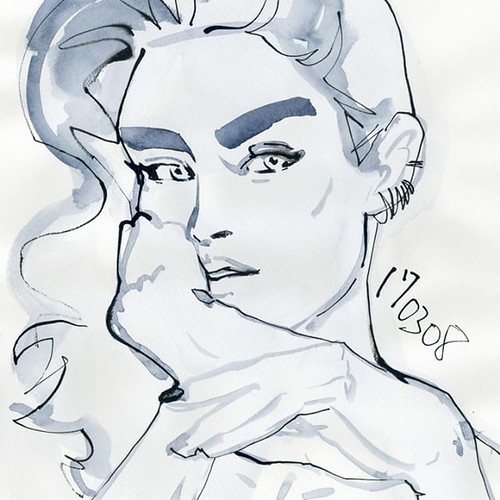 Drawing no.170308-02 #watercolor #illustration #illustrator #drawing #fashion #fashionillustrationsketch #fashionista #fashionillustrations #fashionillustrator #Japan #tokyoillustrator #beauty #beautyillustration #fashionsketch #sketch #art #portraitdra | by loopool
