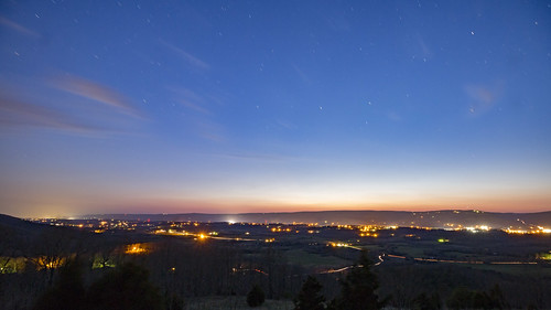 sequatchievalley overlook sequatchiecounty tennessee tn stars longexposure sunset
