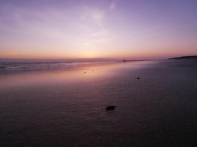 Burg Haamstede Beach Zeeland Netherlands