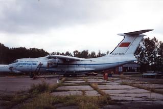 CCCP-86711  @ Spilve 28 aug 1993