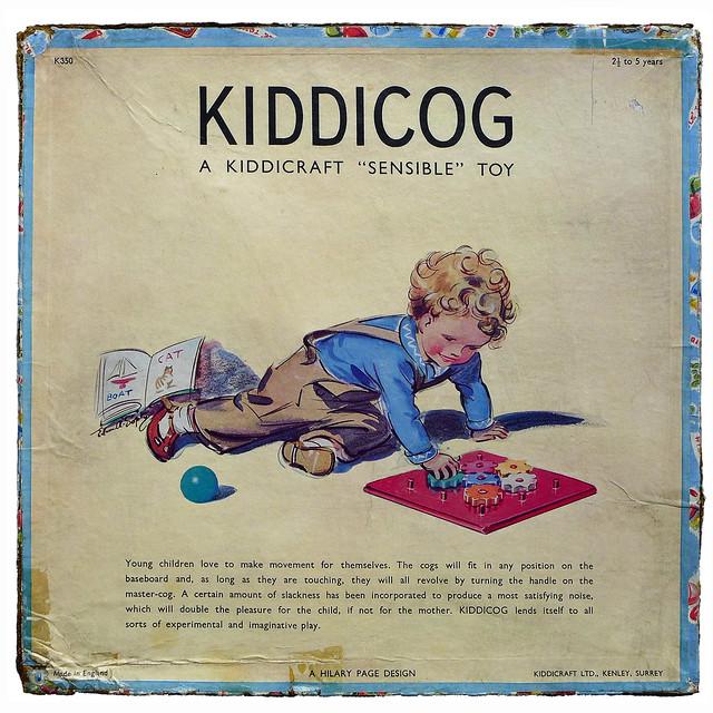 KIDDICOG box design