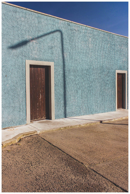 Two Doors & Shadows, St Monans