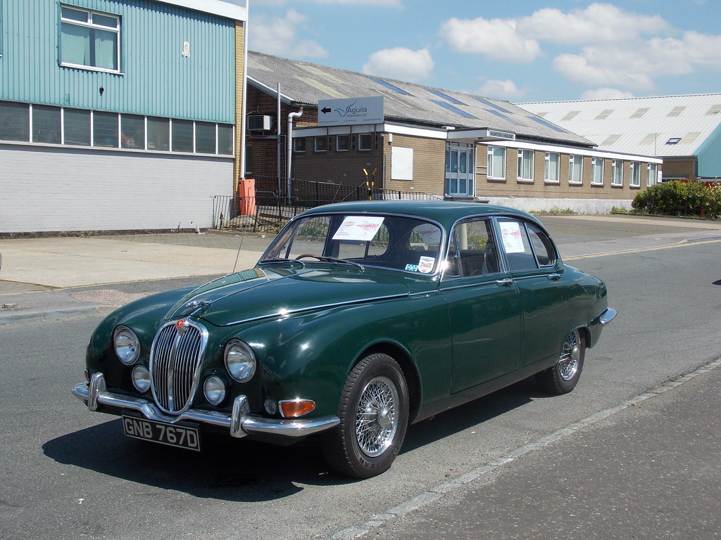 """1966 Jaguar S-Type   """"Blimey, guv, it's the Sweeney and ..."""