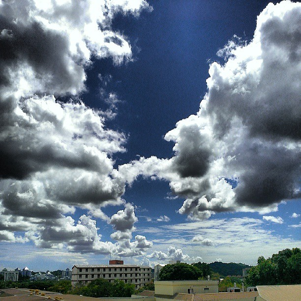 Beautiful #clouds #formation #photography #skyscape #brunei #htc #butterfly