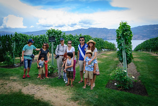 Family in front of Pinot noir | by -Jérôme-