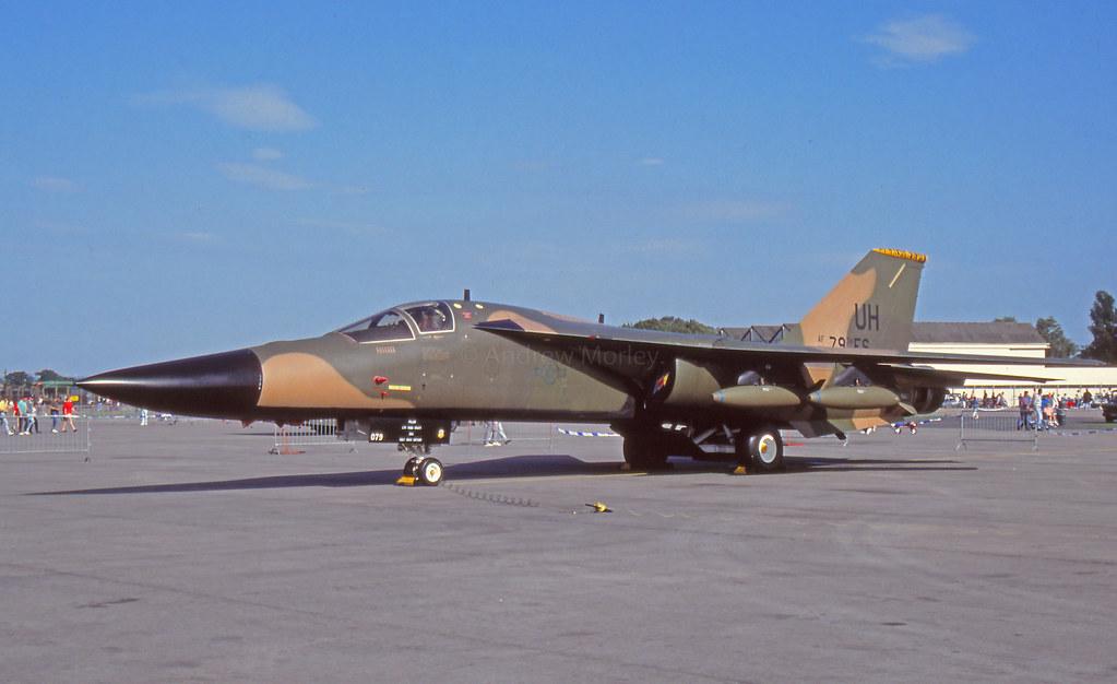 F-111E at RAF Upper Heyford 1992